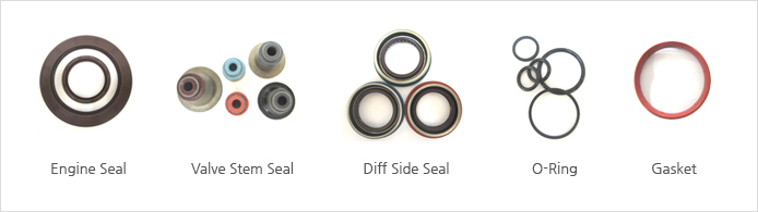 Engine seal, Valve stem seal, O-Ring, Gasket