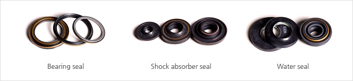 Bearign seal, Shock absorber seal, Shock absorber seal
